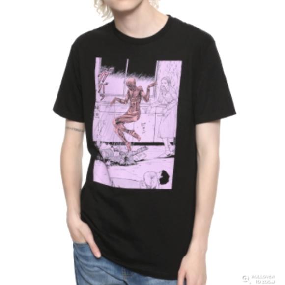 Junji Ito Other - Junji Ito Skin Float Black T-shirt Large